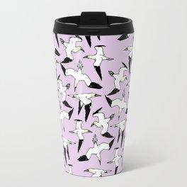 Pink Gannet Travel Mug