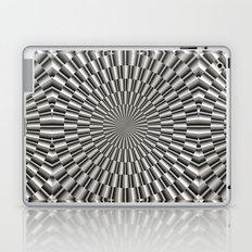 High tech silver metal surface Laptop & iPad Skin