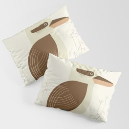 Laughing Kookaburra, Bird of Australia Pillow Sham