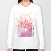 hedwig Long Sleeve T-shirts featuring Hedwig by Erik Sandi Satresa