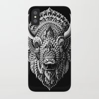 bioworkz iPhone & iPod Cases featuring Bison by BIOWORKZ