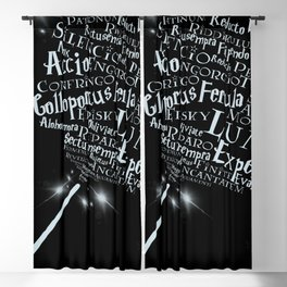 Charms, Spells and Curses Blackout Curtain