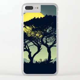 Landscape DD Clear iPhone Case