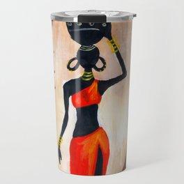 African red Travel Mug