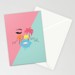 Miami Vibes Stationery Cards
