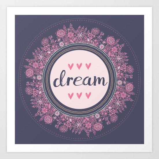Love-Dream-Love Art Print