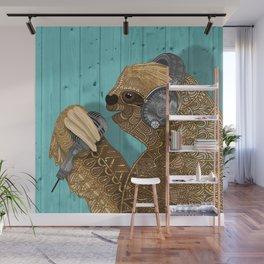 Sloth Song Wall Mural
