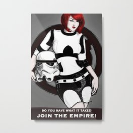 JOIN THE EMPIRE! Metal Print