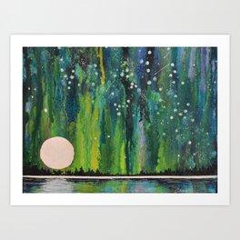 Lady Aurora Art Print