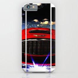 Red, hot & beautiful iPhone Case