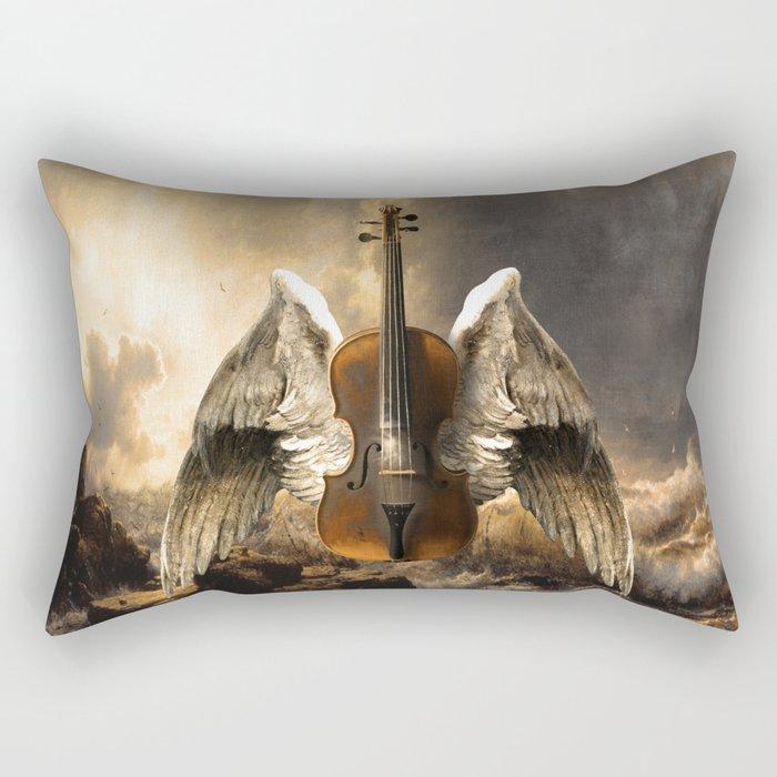 Celestial Music Rectangular Pillow