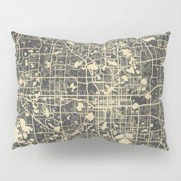 Orlando Map Pillow Sham