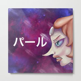 galactic crystal warrior Metal Print