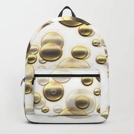 Gold Shower Backpack