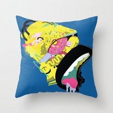 Homer 1. Throw Pillow