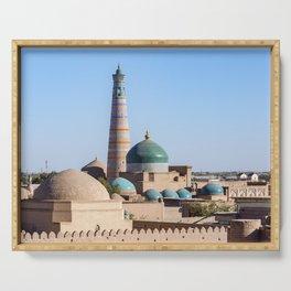 Islam Khodja - Khiva, Uzbekistan Serving Tray