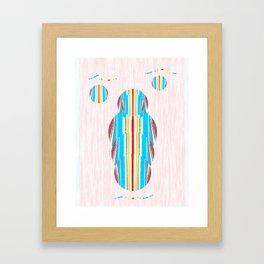Symmetrical Circle Being: Innerlight Framed Art Print