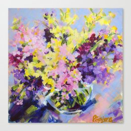 Beautiful Bouquet Canvas Print
