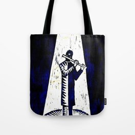 WoodCutter - music figure Tote Bag