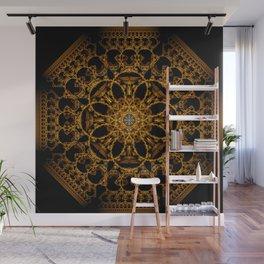 Fractal Art - Tiki Gold I Wall Mural