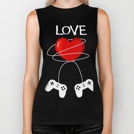 Valentine Gift For Video Game Lover. Biker Tank