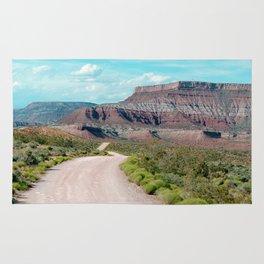 Dirt Road Home (La Verkin, Utah) Rug