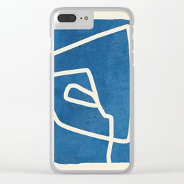 abstract minimal 57 Clear iPhone Case