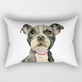 Puppy Eyes Rectangular Pillow