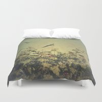 freedom Duvet Covers featuring Freedom by Victoria Herrera