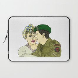 Wartime Lovers  Laptop Sleeve