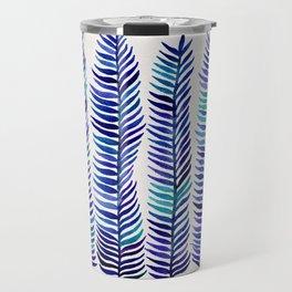 Indigo Seaweed Travel Mug
