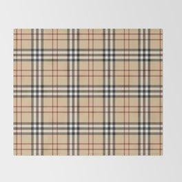 Tartan Plaid B Throw Blanket