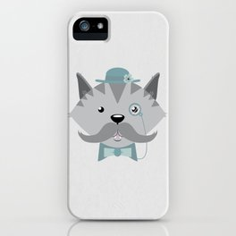 Mr. Pipsey iPhone Case
