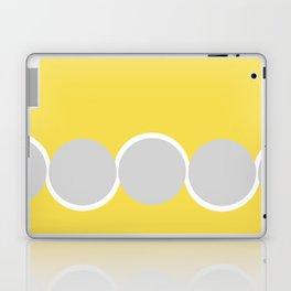 Gray Circles in the Sun Laptop & iPad Skin