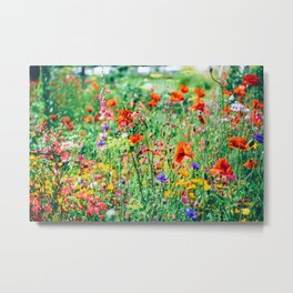 The Wild Flowers (Color) Metal Print