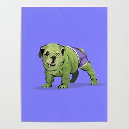 The Incredible Bulldog Poster