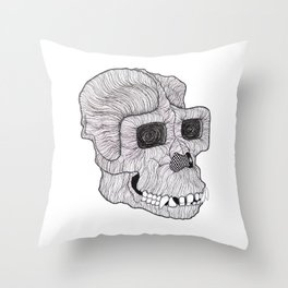 Ape Throw Pillow
