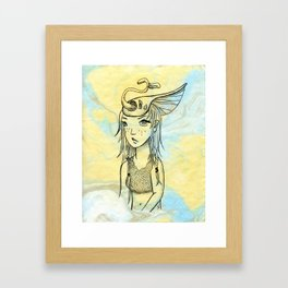 Samara Framed Art Print