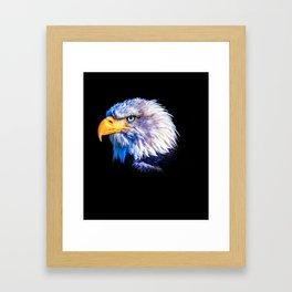 The eagle eye Framed Art Print