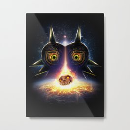 Majora's Mask Operation Moonfall Metal Print