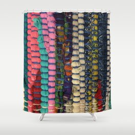 India. Fashion Textures Shower Curtain