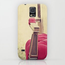 Old Red Chair iPhone Case