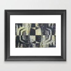 Encaustic study 1 Framed Art Print