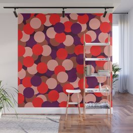 Abstraction_DOTS_COLOR_02 Wall Mural