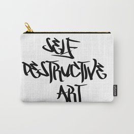 Self Destructive Art Carry-All Pouch