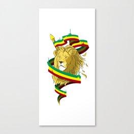 Reague Lion Canvas Print