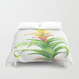 Bromeliad - Tropical plant Duvet Cover