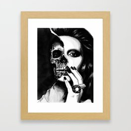 Beauty is ephemeral Framed Art Print