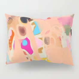 coral summer Pillow Sham