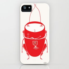 Red cricket iPhone Case